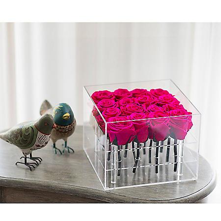 Everlasting Rose Box, Pink