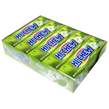 Morinaga Hi-Chew Fuit Chews - Apple - 10 pk.