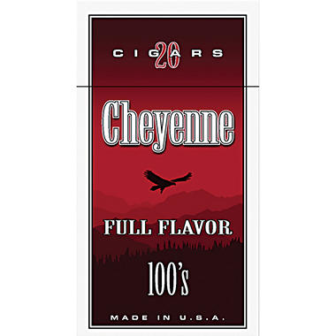 Cheyenne Cigars100's, Full Flavor (20 ct., 10 pk.)