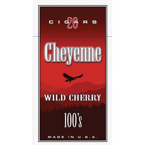 Cheyenne Cigars 100's, Wild Cherry (20 ct., 10 pk.)