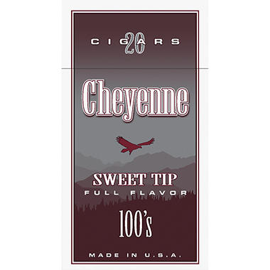Cheyenne Cigars 100's, Sweet Tip (20 ct., 10 pk.)