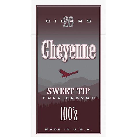Cheyenne Cigars 100's, Sweet Tip (20 ct., 10 pk.)