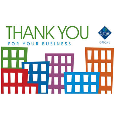 Sams club thank you for your business gift card sams club sams club thank you for your business gift card colourmoves