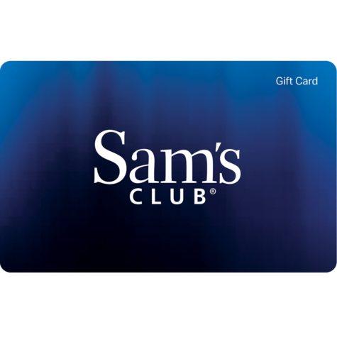 Sam's Club Everyday Blues Gift Card - Various Amounts