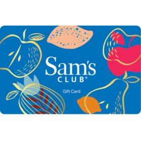 Sams club gift cards sams club sams club fruit everyday gift card various amounts colourmoves