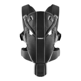 BabyBjorn Baby Carrier, Miracle (Black/Silver)
