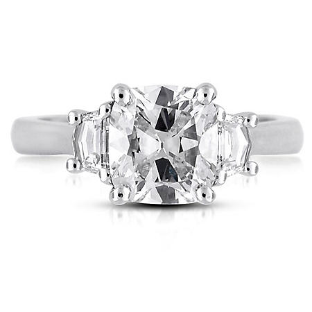 2.45 ct. t.w. Cushion-Cut Diamond Ring (H, VS1)