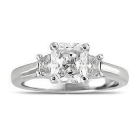 1.82 ct. t.w. Radiant-Cut Diamond Ring (F, VS2)