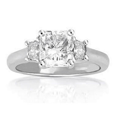 2.38 ct. t.w. Radiant-Cut Diamond Ring (I, VS2)
