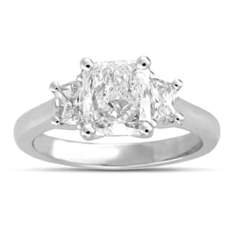 1.80 ct. t.w. Radiant-Cut Diamond Ring (H, SI1)