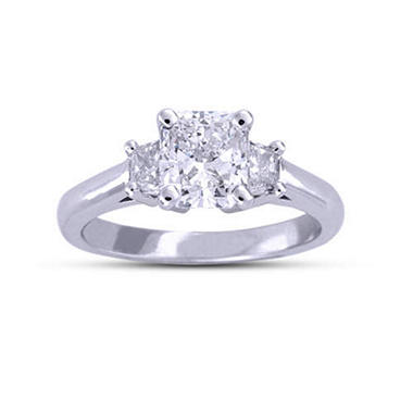 1.79 ct. t.w. Radiant-Cut Diamond Ring (F, SI2)