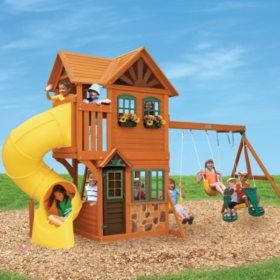 Cedar Summit Boulder Station Play Set