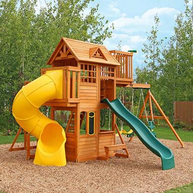 Kidkraft Skyline Wooden Playset Sam S Club