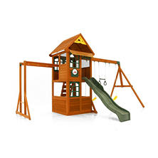 Echo Premium Wooden Play Set by Cedar Summit