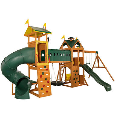 Mockingbird View Swing Set & Activity Center