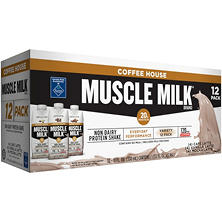 Muscle Milk Coffee House Variety Pack Non-Dairy Protein Shake (11 fl. oz., 12 pk.)