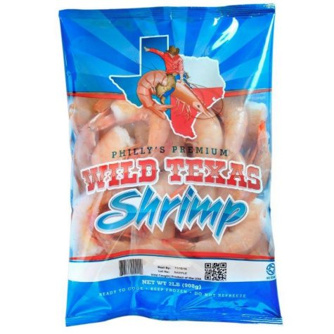 Philly's Premium Wild Texas Shrimp (2 lbs.)