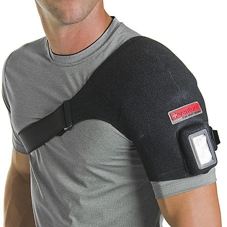 Portable Shoulder Heat Therapy Wrap - Regular & Max Sizes