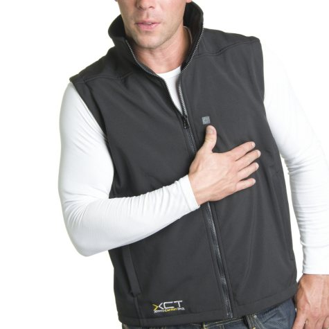 Men's Heated Soft Shell Vest - Varied Sizes S - 2XL