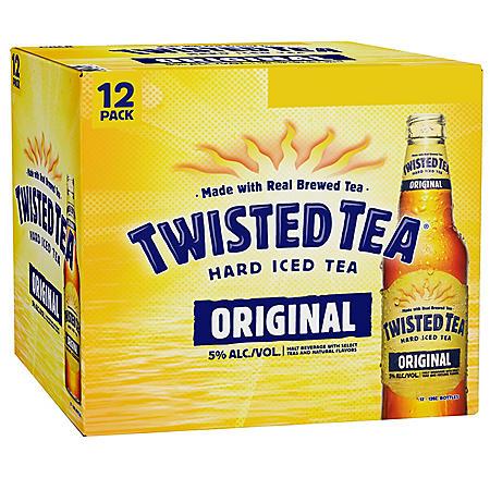 Twisted Tea Hard Iced Tea Original (12 fl. oz. bottle, 12 ...