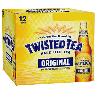 Twisted Tea Hard Iced Tea Original (12 fl. oz. bottle, 12 pk.)