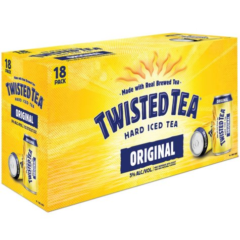 Twisted Tea Hard Iced Tea (12 fl. oz. can, 18 pk.)