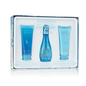 Davidoff Cool Water Womens 3 Piece Gift Set
