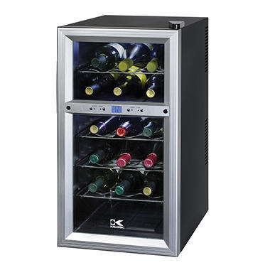 Kalorik Dual Zone 18 Bottle Wine Cooler
