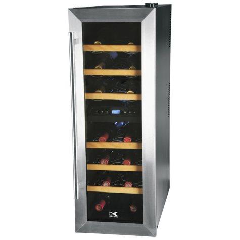 Kalorik Dual Zone 21-Bottle Wine Cooler