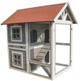 Advantek Row House Rabbit Hutch (Choose Your Color)