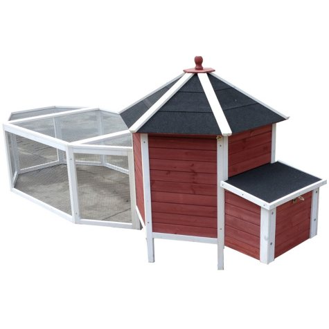 "Advantek Tower Chicken Coop with Run (46.75"" x 114.5"" x 41.25"")"