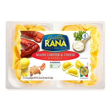 Rana Maine Lobster & Cheese Ravioli (13 oz., 2 pk.) - Sam ...