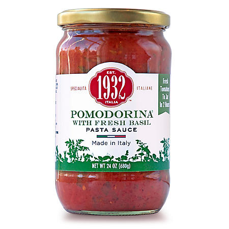Pomodorina Pasta Sauce with Fresh Basil (24 oz., 2 pk)