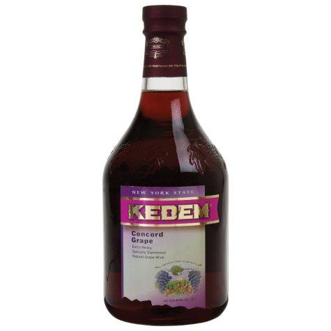 Kedem Concord Grape Wine (1.5 L)