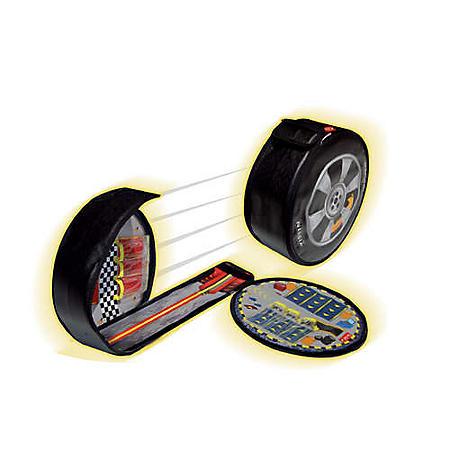 "Neat-Oh"" ZipBin® Wheelie Track w/ Toy Cars"
