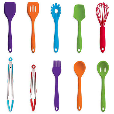 Art And Cook 10 Piece Silicone Utensil Set Sam 39 S Club