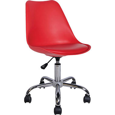 U Loft Task Chair, Red