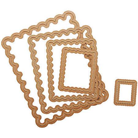 Spellbinders Nestabilities Dies-Scallop Rectangle