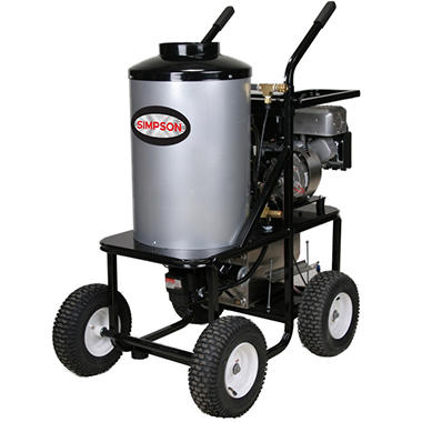 SIMPSON Brute 3000 PSI 2.8 GPM - Hot Water Pressure Washer