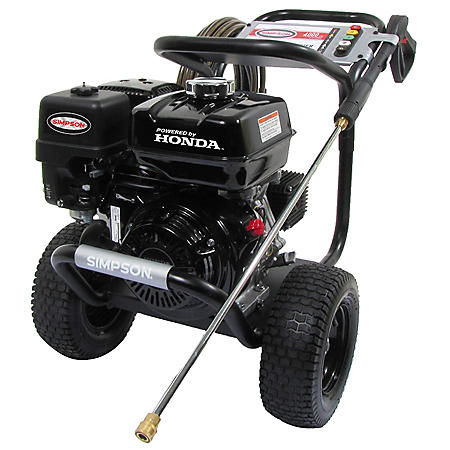 Simpson PowerShot 4000 PSI at 3.3 GPM Honda GX270 with AAA Triplex Pump Professional Gas Pressure Washer
