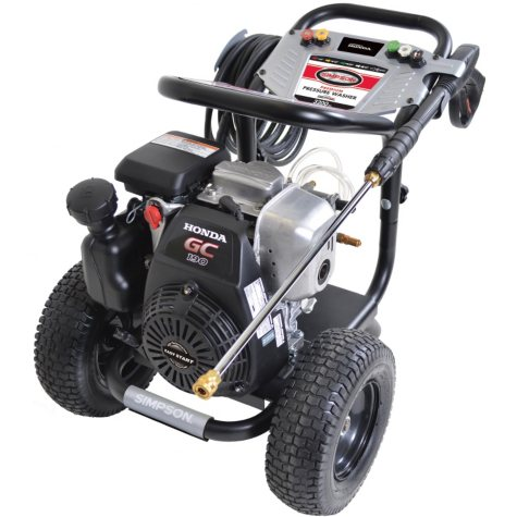SIMPSON Megashot 3200 PSI 2.4 GPM - Gas Pressure Washer Powered By HONDA