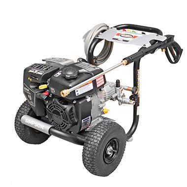 SIMPSON Megashot 3100 PSI 2.4 GPM - Gas Pressure Washer Powered by KOHLER