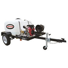 SIMPSON Trailer 4200 PSI 4.0 GPM -Cold Water Pressure Washer System Powered by Vanguard