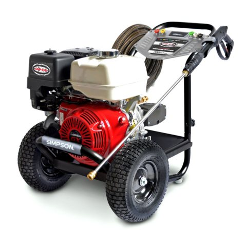Simpson PS60925 3800 PSI @ 4.0 GPM Gas Pressure Washer Powered by Honda GX270