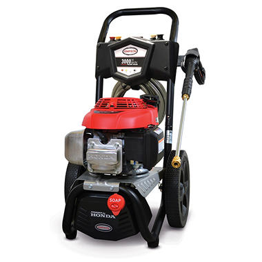 Simpson 3000 Psi 2 4 Gpm Gas Pressure Washer Powered By