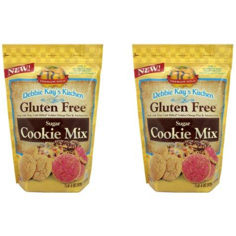Debbie Kay's Kitchen Gluten-Free Sugar Cookie Mix (20 oz. ea., 2 pk.)