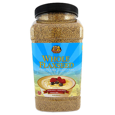 Premium Gold Whole Flaxseed (96 oz.)