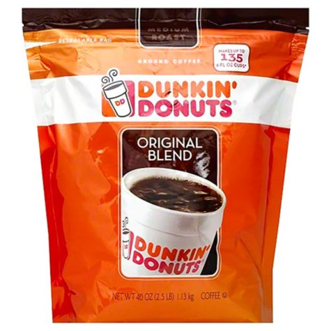 Dunkin' Donuts Original Blend Ground Coffee, Medium Roast (40 oz.)