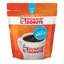 Dunkin' Donuts Ground Coffee, French Vanilla  (40 oz.)