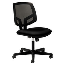 HON - Volt Series Mesh Back Task Chair with Synchro-Tilt - Black